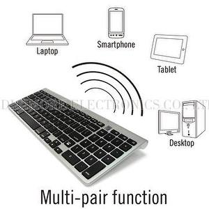 Digimore Multi-Device Bluetooth Mac Compatible Keyboard