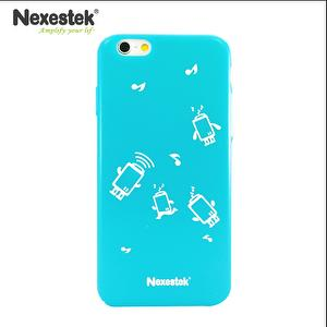 Glossy Candy Color Cartoon Caobile se for iPhone6S/6S Plus