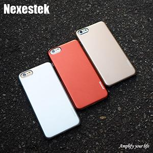 Nexestek for iphone 6/6S case Metal glossy case (Gold)4.7'