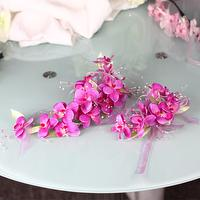 SMALL ORCHID-Flower Accessories Products by handmade using Artificial Flowers.