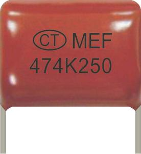 Metallize Polyester(Polypropylene) File Capacitor (Coating)