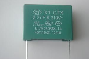 CTX X1 series capacitors