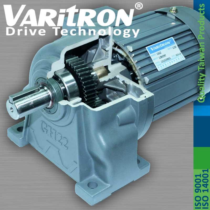 Varitron Helical Gear Motor Speed Reducer Gearbox Machine