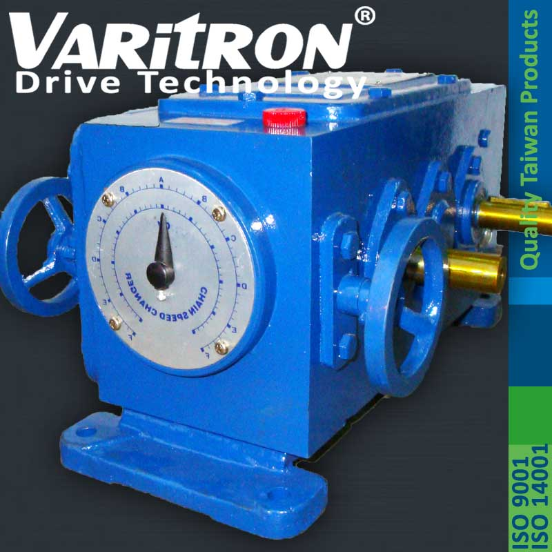 Varitron Adjustable Speed Gearbox Speed Variable Chain Piv