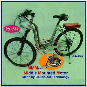 Middle Mounted Electric Bicycle Motor