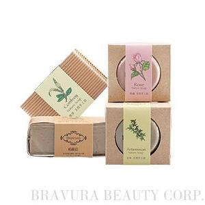 Natural's handmade soap - Round
