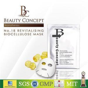 BEAUTY CONCEPT No.18 REVITALISING BIOCELLULOSE MASK