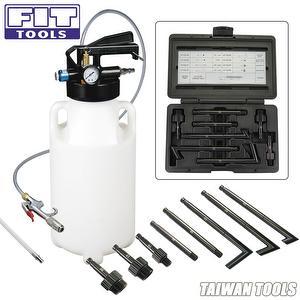Two Way 8.5L Pneumatic Air Engine Gear Oil & Fluid Extractor & Dispenser