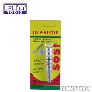 Waterproof Whistle With SOS Personal Data Paper
