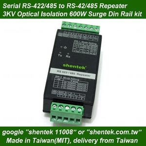 RS422/485 repeater