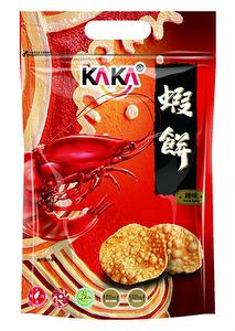 KAKA Crispy Shrimp Crackers (40g*20 packets) - Hot & Spicy