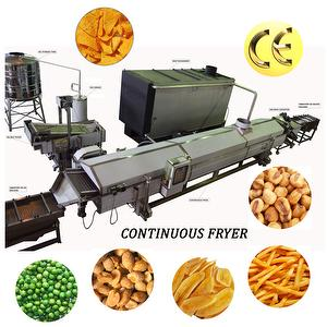 CHIPS NUTS CONTINUOUS FRYER