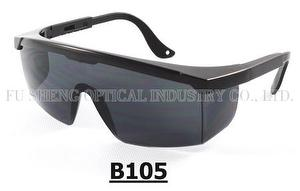 B105 safety glasses