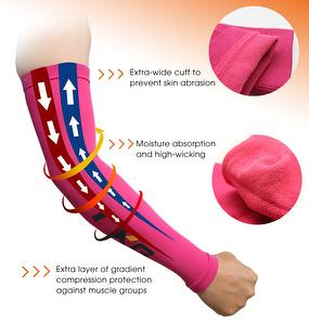 For Sport 10-15mmHg Gentle-TXG Arm Compression Sleeves