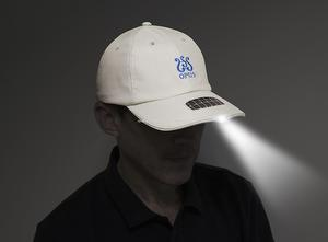 Solar Powered LED Cap CH-SL01-IW