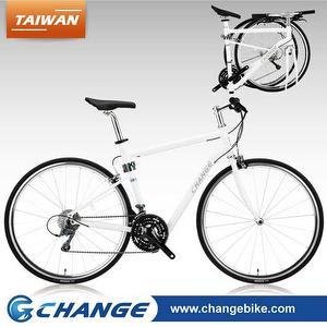 10.5kg 能推 能揹,能站 700C摺疊跑車公路車Shimano 24速 Change DF-702W 白色 490mm