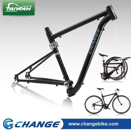 Foldable 700C frame-ChangeBike high quality Alu.7005 frame DF-733B ...