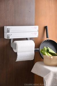 Portable 3 in 1 kitchen roll holder with sakurapatten.