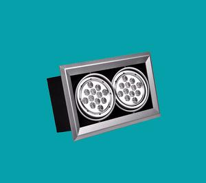 LED 12W*2 Square Down Light