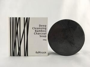 iLoVeggie Deep cleansing charcoal soap