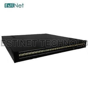 EstiNet Data Center-grade SDN Switch - 48 ports 10GbE SFP+ a