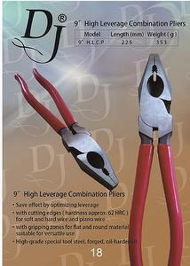 9〞High Leverage Combination Pliers