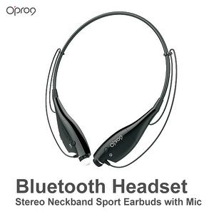 Bluetooth Headset Stereo Neckband Sport Earbuds with Mic