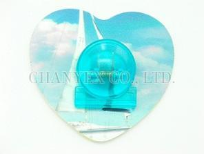 Decorative Memo Clip - Heart 01