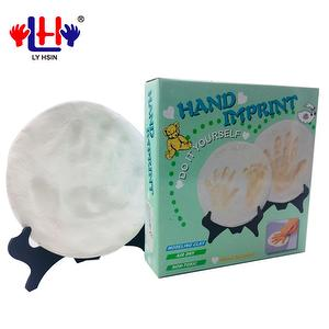 Non-Toxic Smooth Touch Baby Handprint Footprint Clay Kit
