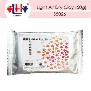 Light air dry clay (50g)