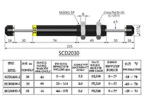 hydraulic industrial shock absorbers
