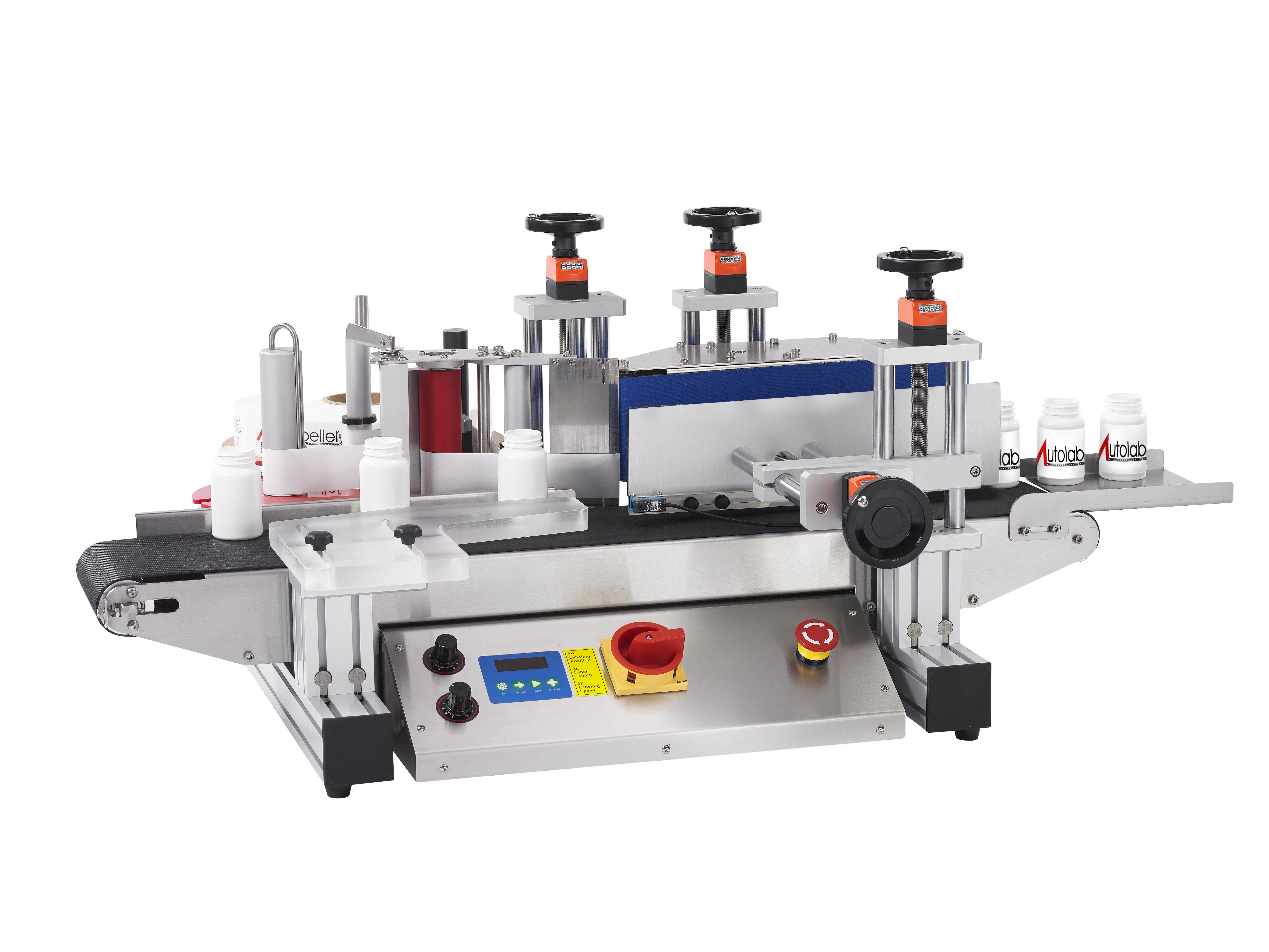 Wrap around label machine compact design - LR1000 Packaging ...