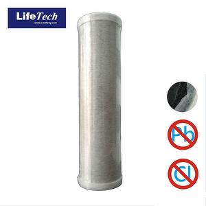 Antibacterial activated carbon fiber replacement filter