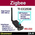 High Power Zigbee Serial RS232 converter