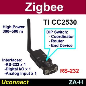 High Power Zigbee RS-232 adapter