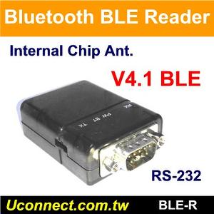 Bluetooth V4.1 BLE Active RFID RS-232 Reader