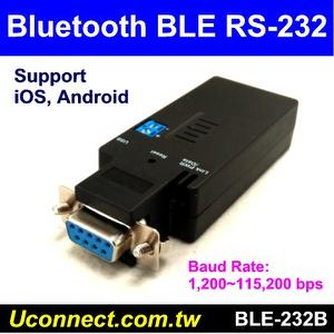 BLE RS-232 adapter,BLE RS232, Model: BLE-232C