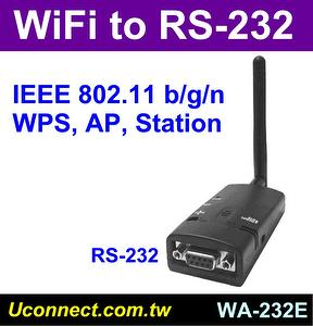Wifi RS-232 adapter