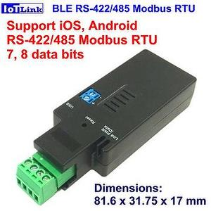 Bluetooth BLE V4.2 RS-485 adapter