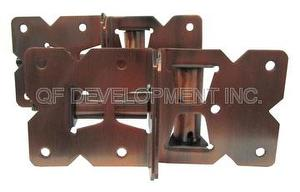 Stainless Self-Closing Adjustable Hinges Vinyl Gate Hardware