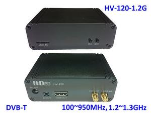 HV-120-1.2G Full HD 1.2GHz/2.4GHz band Digital TV Receiver