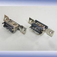 HDMI receptacle dual ports SMT type with flange