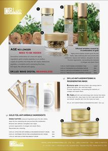 【DR LUO】Gold foil anti-wrinkle ingredients