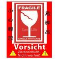 Fragile Label