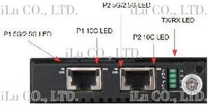Dual-Port 10G/5G/2.5G Based-T Test Module