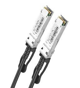 DAC cable 2m AWG30-24 40G QSFP Ethernet Connection