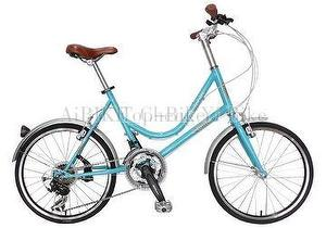 LADY SMILE - 20 inch 21 spd mini velo_ocean blue