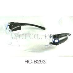 LED safety glasses, safety goggles, protective eyewear