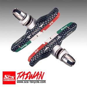 SCS Brake Shoes/ V-Brake Size:70mm【SCS-F911XC】Italy Flag