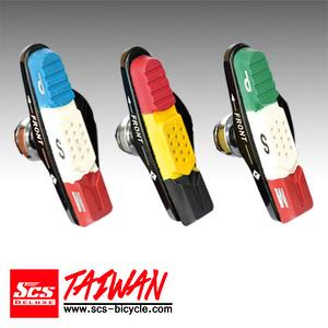 SCS Brake Pad (Shoes) Size:55 mm【SCS-F613AB】National Flag